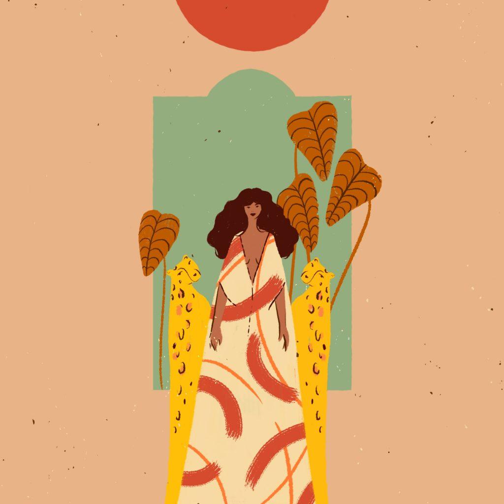 Illustration - Leopard Lass